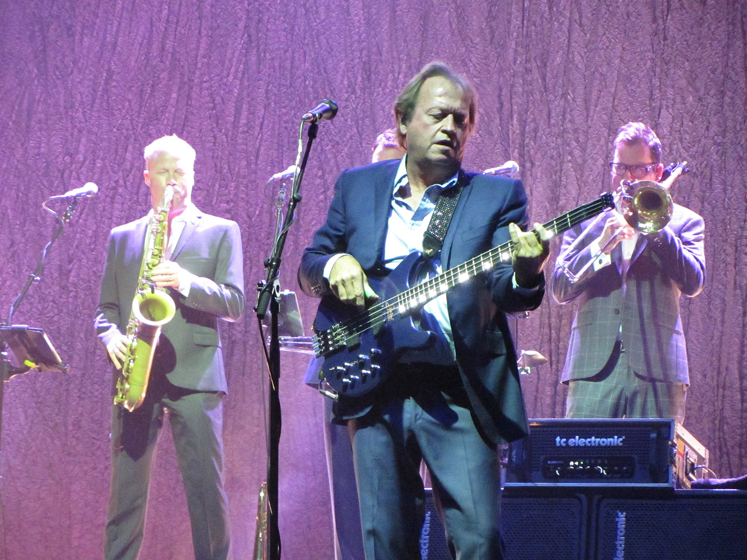 LEVEL 42 – The Lowry, Salford, 4 October 2016
