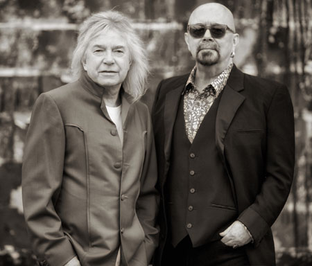 Bob Catley and Tony Clarkin (Magnum)