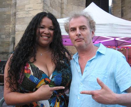 Kyla Brox and Pete Feenstra