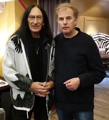 Ken Hensley and Pete Feenstra
