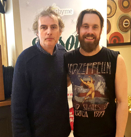 Pete Feenstra and Monster Truck