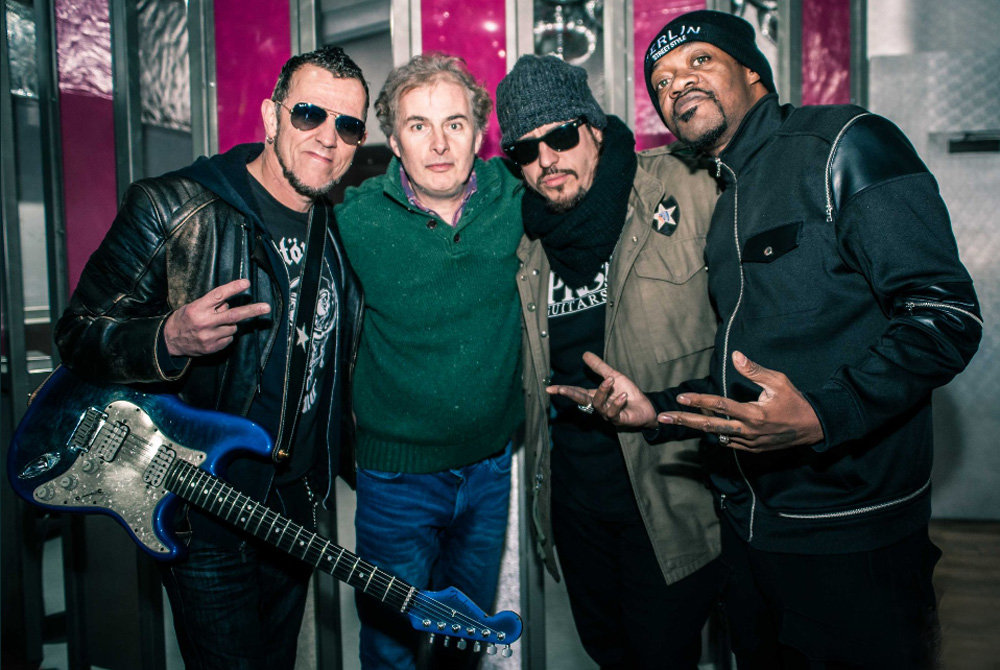 Gary Hoey, Lance Lopez and Eric Gales With Pete Feenstra