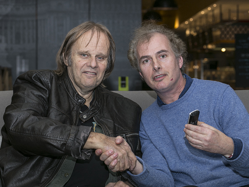 Walter Trout and Pete Feenstra