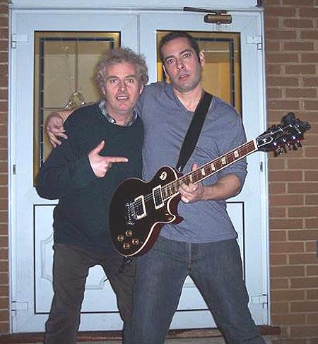 Pete Feenstra and Albert Castiglia